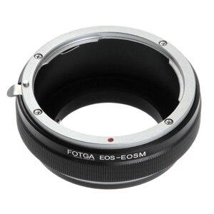 Image 1 - Fotga Adaptör Halkası Canon EOS EF/EF S Montaj Lens için Canon EF EOS M M2 M3 M5 M6 M50 m10 M100 Aynasız Kameralar