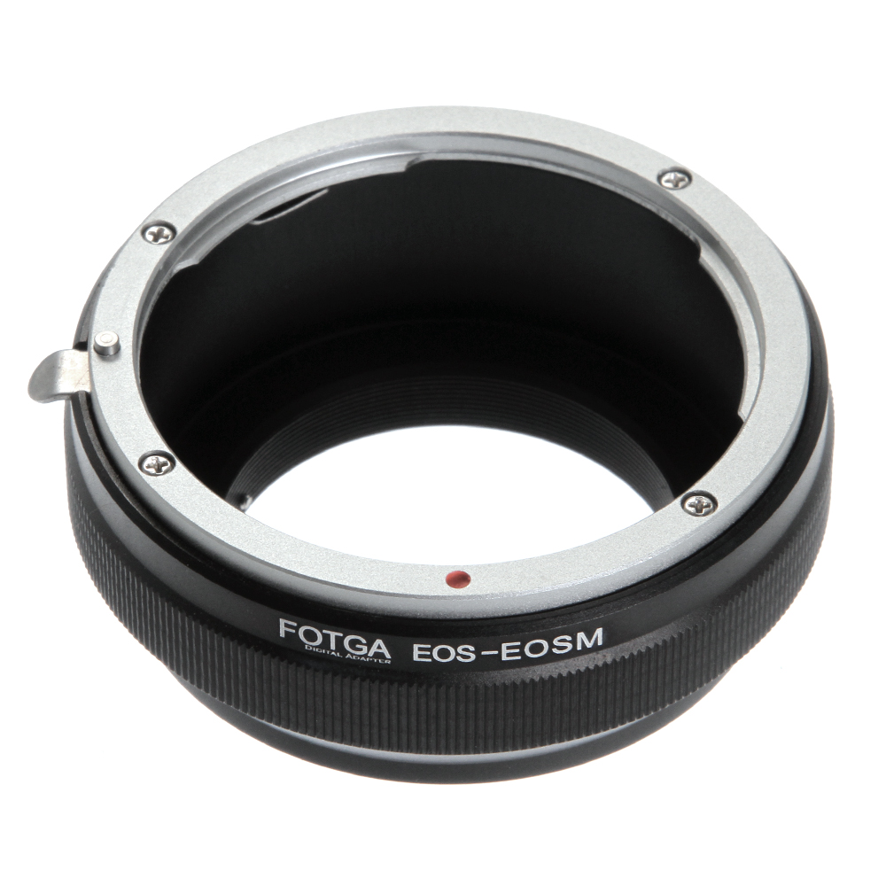 все цены на Fotga Adapter Ring for Canon EOS EF/EF-S Mount Lens to Canon EF-EOS M M2 M3 M5 M6 M50 M10 M100 Mirrorless Cameras