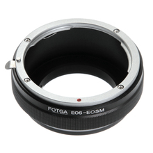 Fotga Adapter Ring for Canon EOS EF/EF S Mount Lens to Canon EF EOS M M2 M3 M5 M6 M50 M10 M100 Mirrorless Cameras
