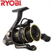 RYOBI Original fishing reel VIRTUS spinning reel 4+1 bearings 5.0:1/5.1:1 Ratio 2.5KG 7.5KG Power Japan reels with CNC handle