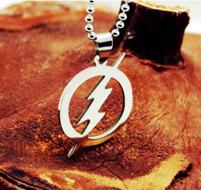 beads chain 60cm stainless steel lightning pendant necklaces for men women wj287 289 290
