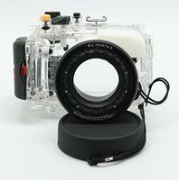 Waterproof Underwater Housing Camera Housing Case for Sony DSC RX100 II RX100 II Mark II 2 M2 10.4 37.1mm