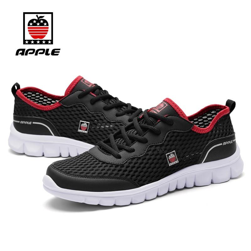 2017Apple forró eladás Ultra könnyű nyári háló lélegző férfiak futócipők Népszerű kényelmes férfi sport cipő fut 5.0 cipők AP