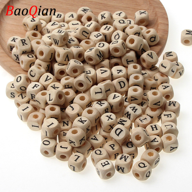 100X Royal blue Wooden Spacer Beads Jewelry Making Kids crafts Accessories 9mm