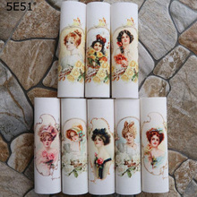 15*15cm Handmade cloth DIY cotton canvas fabric /Positioning cloth digital printing Western woman hand dyed cloth handmade cloth diy cotton canvas fabric van gogh oil painting handmade cotton decorative painting