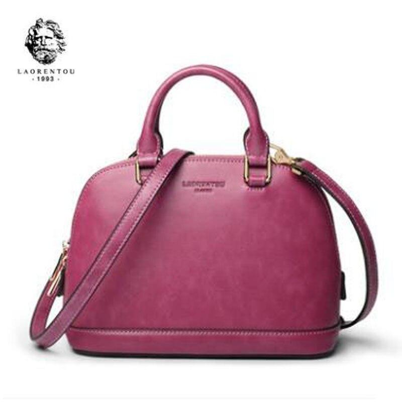 все цены на LAORENTOU 2018 New women leather handbags fashion luxury women bags designer shell bag tote Handbags & Crossbody bag