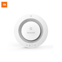 Original Xiaomi Mijia Honeywell Smart Fire Alarm Progressive Sound Photoelectric Smoke Sensor Remote Linkage Mihome APP