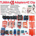 Tl866a программер + 20 адаптеры + IC зажим USB универсальный программатор TL866 AVR PIC Bios 51 MCU Flash EPROM программер русский английский руководство