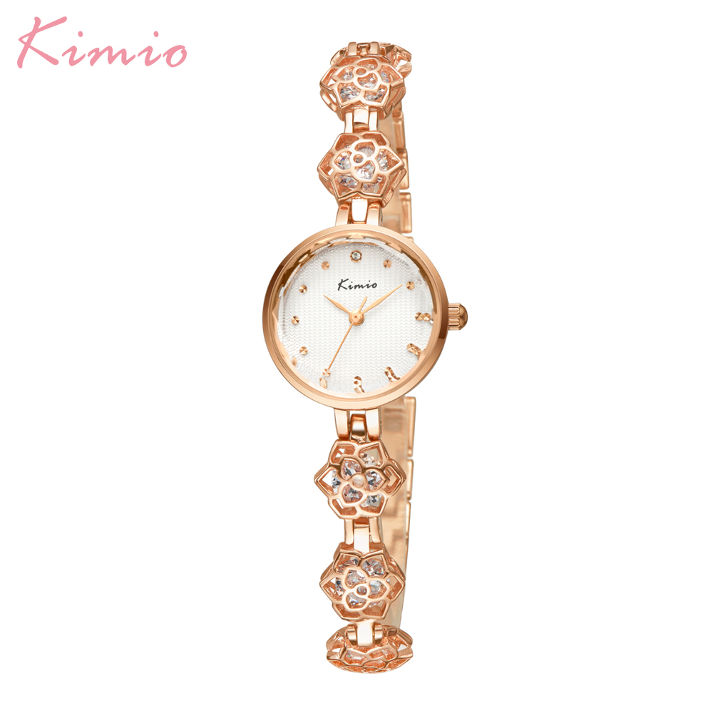 Hot Kimio Luxury Brand Fashion Bracelet Women Wristwatches Dress Ladies Quartz Watches Relogio Feminino Gift Box Female Clock цена 2017
