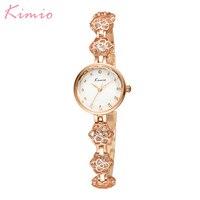 Hot Kimio Luxury Brand Fashion Bracelet Women Wristwatches Dress Ladies Quartz Watches Relogio Feminino Gift Box Female Clock