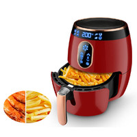 Candimill Multi Functional small electric LCD kitchen air fryer oven oil free 1400W air frying home commercial use
