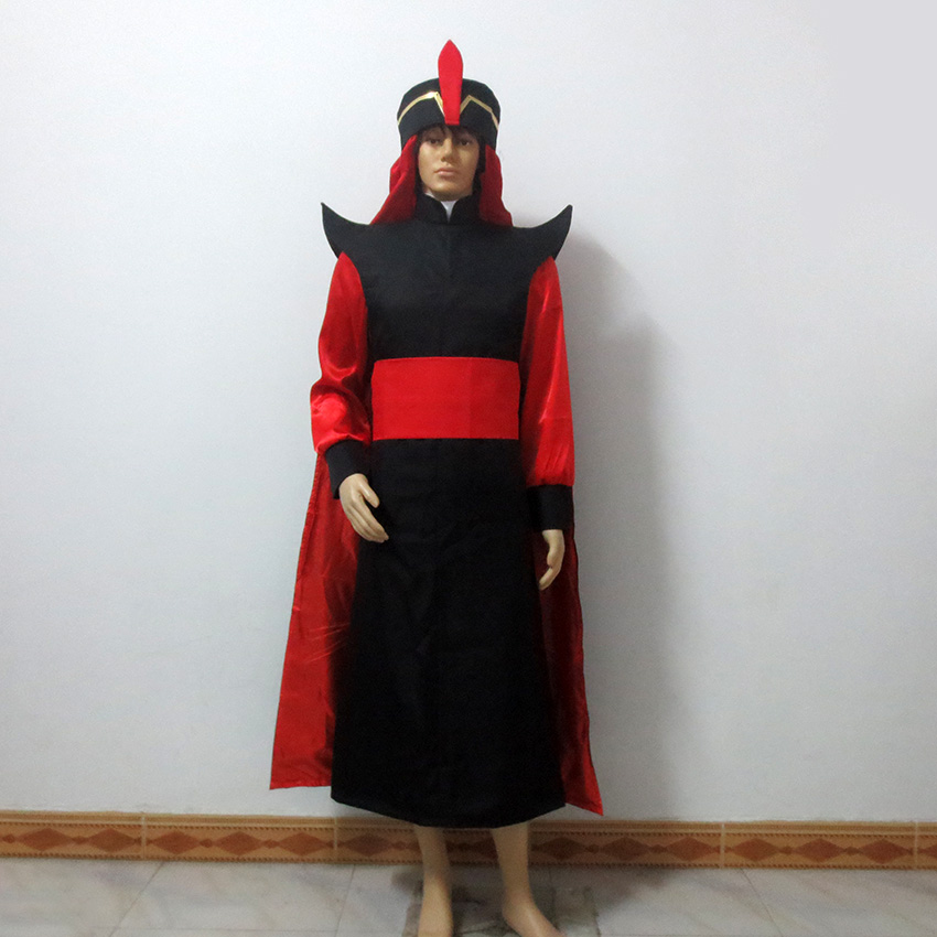 Aladdin: The Return of Jafar Christmas Party Halloween Uniform Outfit Cosplay Costume Customize Any Size