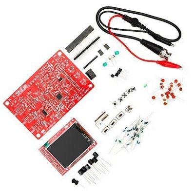 "Kit Osciloscópio osciloscopio Digitais DIY Kit de Aprendizagem Eletrônica DSO138 kit 2.4 ""1 Msps usb handheld osciloscópio"
