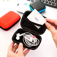 Multicolor Earphone Wire Organizer Storage Box Data Line Cables Case Container Coin Headphone Protective
