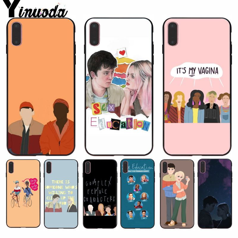 Yinuoda Sex Education Classic High-end Phone Accessories Case for iPhone 8 7 6 6S Plus 5 5S SE XR X XS MAX Coque Shell