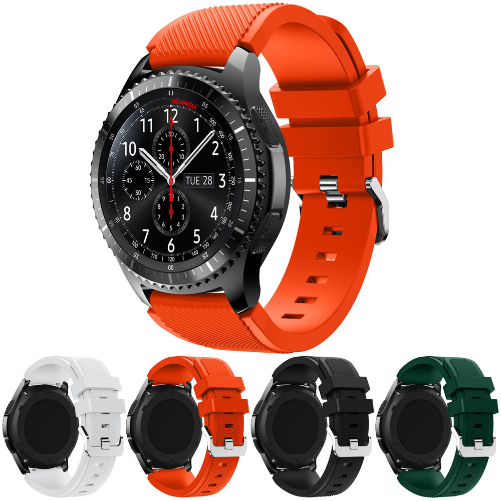 Superior New Fashion Sports Silicone Bracelet Watch Strap Band for Samsung Gear S3 Frontier Oct 13