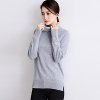 Women Sweaters And Pullovers 2015 Cashmere Sweater Women Half Turtleneck Knitted Pullover Womens Autumn And