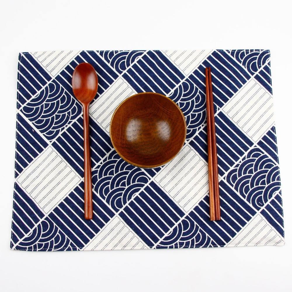 Kitchen Table Mats Cotton Linen Table Napkin Decorative Placemats Square Tablecloth Dining Table Cover For Kitchen Home
