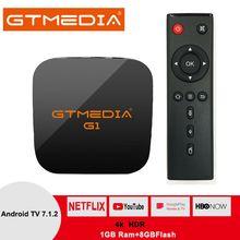 Original Global GTMEDIA G1 TV Box 4K HDR Android TV