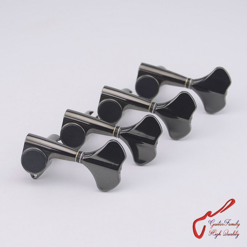 Original Genuine 4 In-line GOTOH GB707 4 Strings Electric Bass Machine Heads Tuners  ( Cosmo Black  ) MADE IN JAPAN корпус для пк in win 707