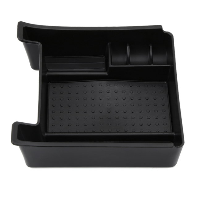 Car Accessories Black Car Armrest Storage Stowing Tidying Mini Box For Volvo XC60 S60 S60L V60 car styling