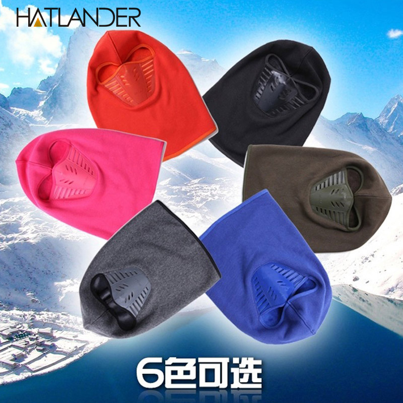 Thick warm beanies men women winter hats sleeve caps snow ski mask ... ff87f9c3cf6