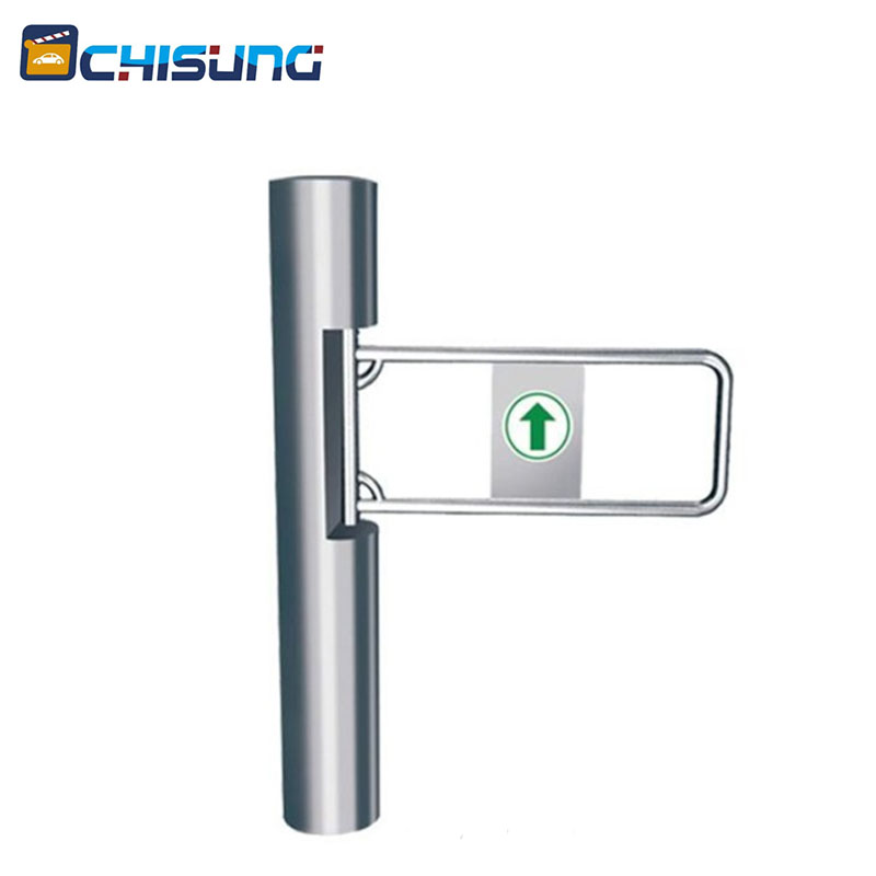 Electronic security supermarket barrier gate swing gate turnstile bi-directional for door entrance access control entrance swing gate turnstile for entrance and exit system gate public facilities