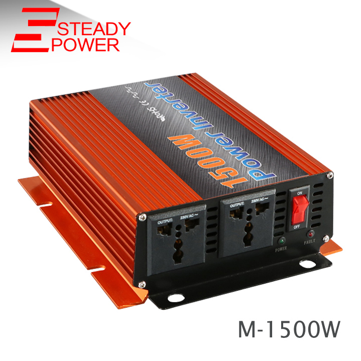 цена на modified sine wave 1500 watt inverter power inverter 1500w 12v 24v 220v inverter