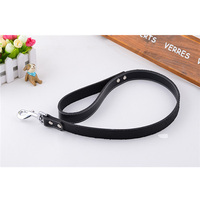 High Quality Fashion Genuine Cowhide Leather Leash for Large Pet Dogs Outdoor Walking Training Leads Dog Products Supplies