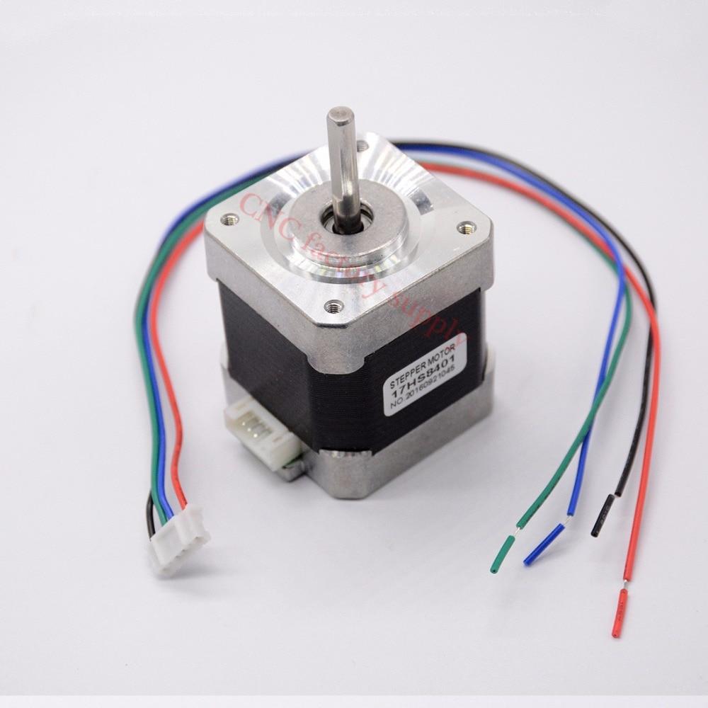 Free shipping 1 PCS 4-lead Nema 17 Stepper Motor 42 motor 17HS8401 1.8A CE CNC Laser and 3D printer цена