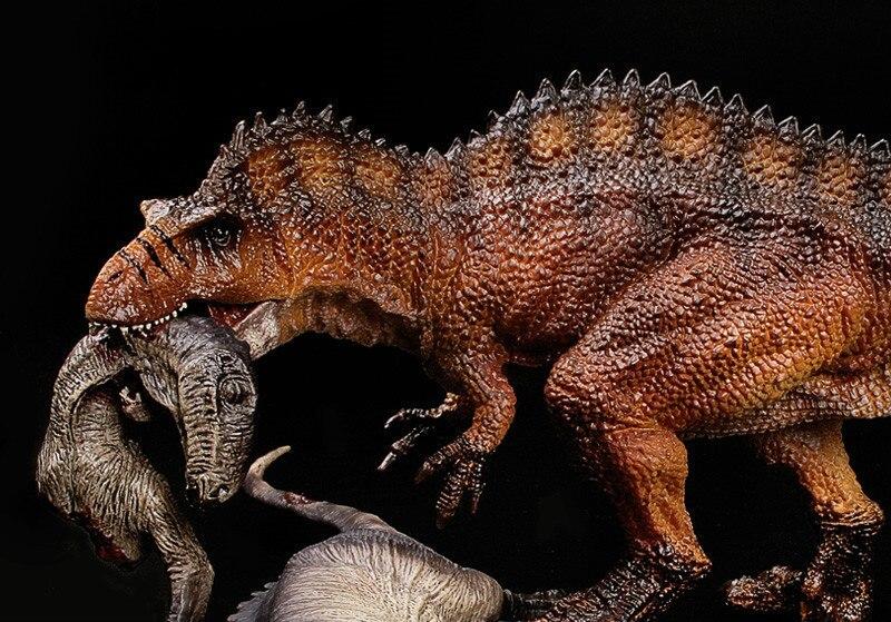 Jouets pour enfants figurines de dinosaures de grande taille Acrocanthosaurus modèles de cadavres de dinosaures enfants jouets cognitifs décoration