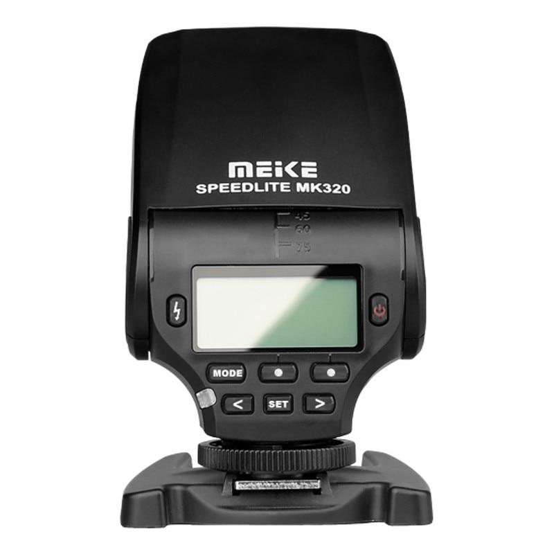 Профессиональный мини светильник MEIKE MK 320 S ttl Speedlite Горячий башмак для камеры sony a7II a9 a7r a7m3 a6000 A6500 NEX 7