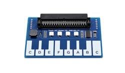 Мини фортепиано модуль для микро: бит, сенсорные клавиши для воспроизведения музыки 4x RGB светодиодов
