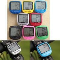 Caliente venta impermeable luz de fondo Digital ciclismo cuentakilometros velocímetro reloj cronómetro bicicleta accesorios para bicicletas ordenador