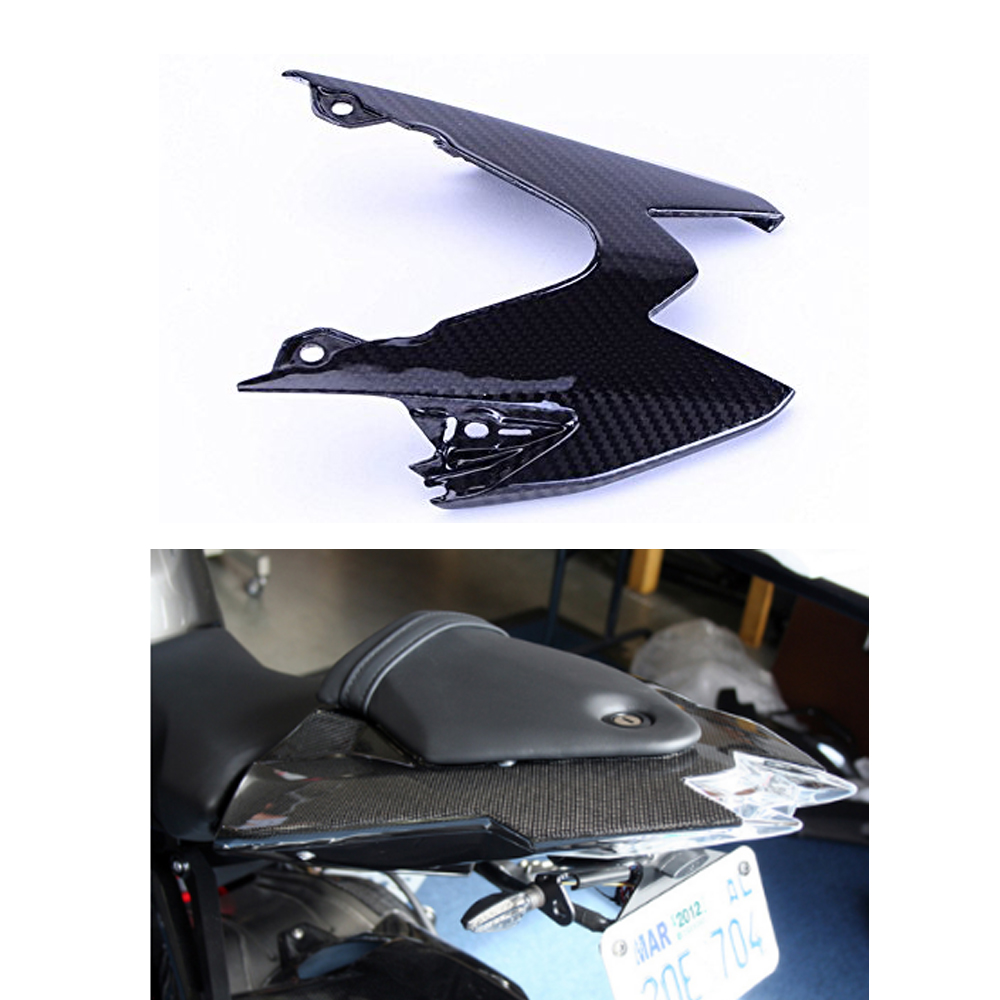 Knight Motorcycle Tail Light Cover For BMW S1000RR 2015 - 2017 S1000R 2014 - 2017 Full Carbon Fiber 100% Twill Weave mike davis knight s microsoft business intelligence 24 hour trainer