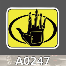 A0247 Spoof Anime Punk Cool Sticker for Car Laptop Luggage Fridge Skateboard Graffiti Notebook Scrapbook Scooter Stickers Toy