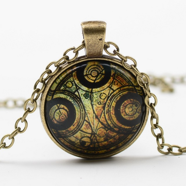 12pcslot vintage glass watch pendant necklace doctor who time 12pcslot vintage glass watch pendant necklace doctor who time machine pocket watches pendant necklace mozeypictures