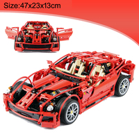 Decool Technic Building Block Sport Car 599GTB Educational Bricks 1322pcs Toy For Boy Gift