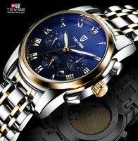 Watch Male Mechanical Watch Fully Automatic Table Swiss Mens Watch Luminous Waterproof Calendar Male Watch Fashion