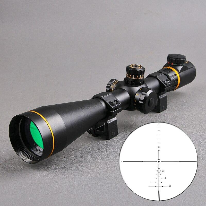 Bestsight 5-15x50 FFP Sight Caccia Scopes Side Parallax Regolazione Lunghi Eye Relief Portata del Fucile Da Cecchino Scope Airsoft Pistole