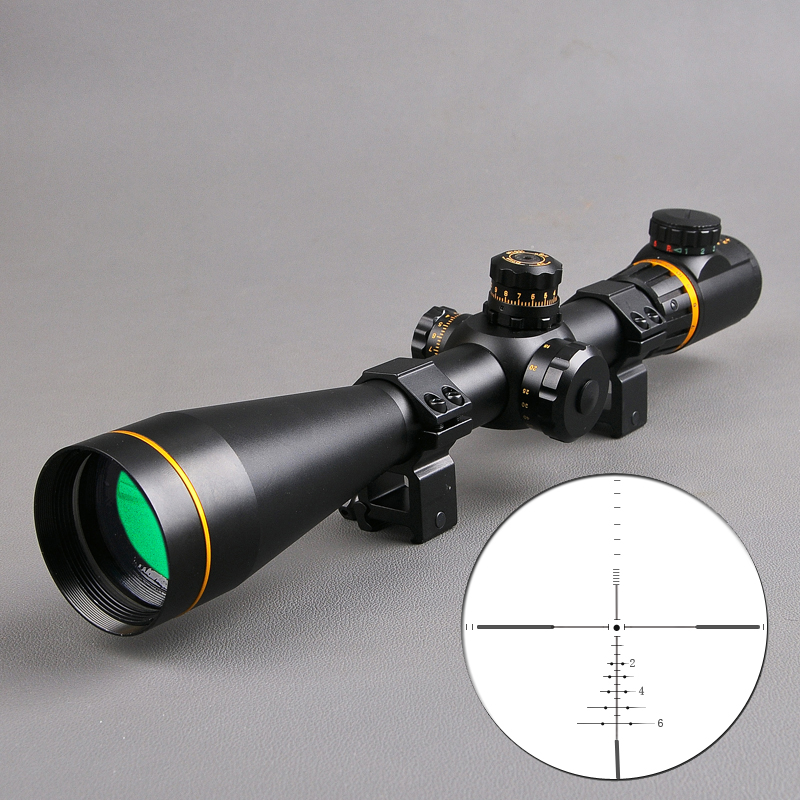 Bestsight 5-15x50 FFP Sight Hunting Scopes Side Parallax Adjustment Long Eye Relief Rifle Scope Sniper Scope Airsoft Guns(China)