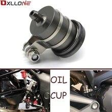 Universal Motorcycle Brake Fluid Reservoir Clutch Tank Oil Fluid Cup For SUZUKI GSR400 GSR600 GSR750 B KING1300 GSX1400 GSF650