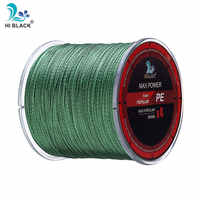 2019 New 300m500m1000m 4 Strands Japan Multifilament 100% PE Braided Fishing Line 8LB to 80LB Tough and strong fishing line