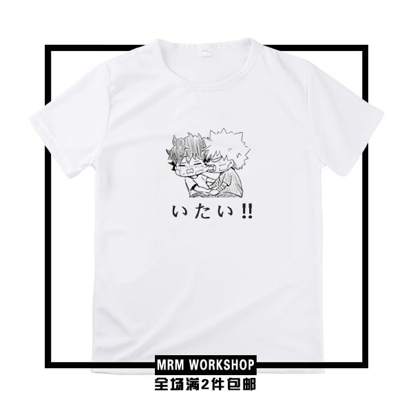 [STOCK] 2018 Anime My Hero Academia 100% Catton T-shirt Cosplay Custume Unisex S-3XL For ...