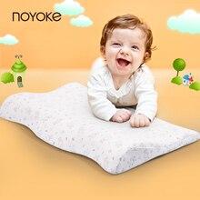 Noyoke 50*32*5-2 bebé de los niños 1-3 años de edad contra la migraña de espuma de memoria almohada del bebé protección vértebra cervical almohada