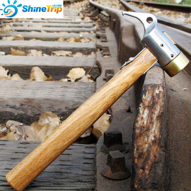 Heavy Duty C&ing Brass Mallet Hammer Tent Pegs Stake Nail Puller Remover Tools Free shipping & Heavy Duty Camping Brass Mallet Hammer Tent Pegs Stake Nail Puller ...