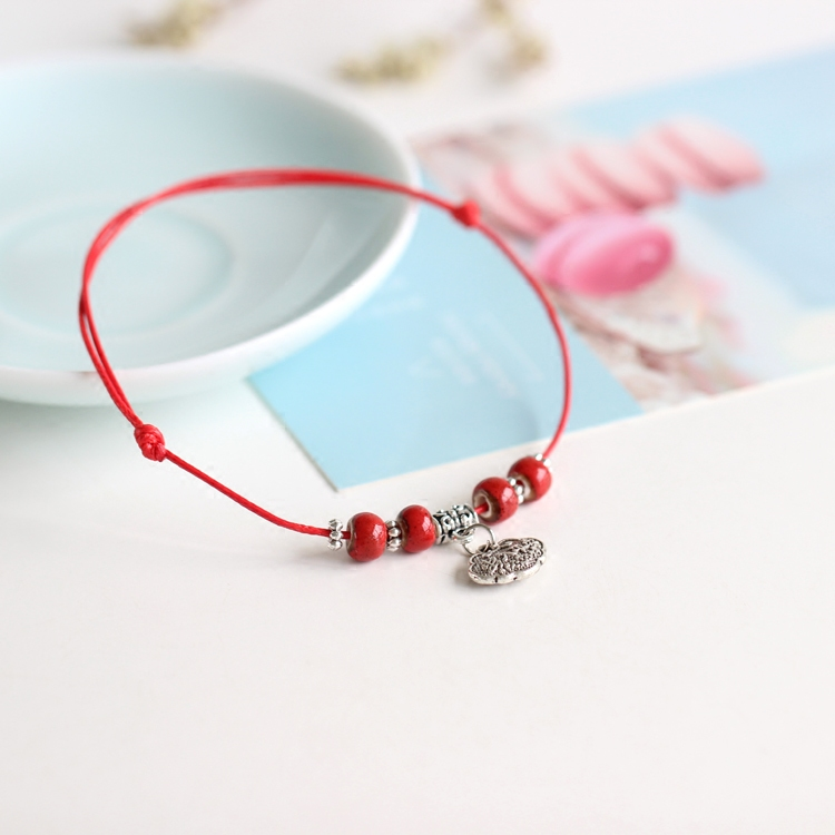 Hand-woven lovely fashion ceramic anklets contracted fashion small adorn article #5374