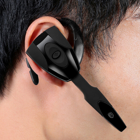 New Gaming Headset Bluetooth Headset 4.0 Wireless Rechargeable Handsfree Headphone Long Standby Earphone for PS3 PC Mobilephone