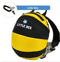 Baby Kids Walking Safety Harness Anti-Lost Backpack Kindergarten Children Leash Strap Keeper Bags nursery shoulder cartoon bag