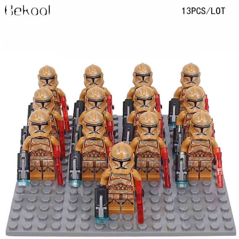 2Pcs Lot Jabba The Hutt vs Princess Leia Rogue One Printd lego minifigure costum
